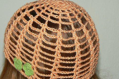 Háčkovaná čapka - sleva ze 122Kč