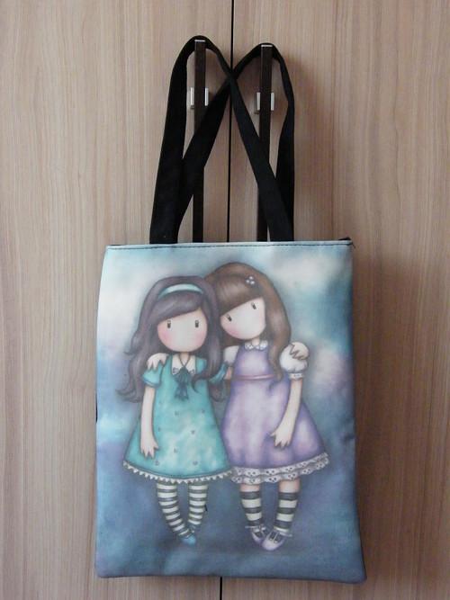 Úžasná kabelka se zipem / taška na sešity či nákup