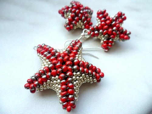 hvězdice červenostříbřenky