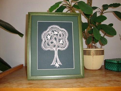 Podvinek - Paličkovaný strom č. 2