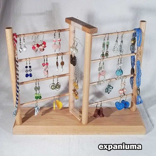 Stojánek na šperky - cikcak