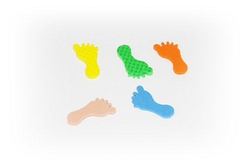 Pěnová guma-výseky - nohy 15ks