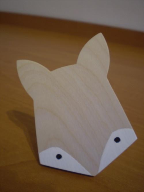 věšák liška