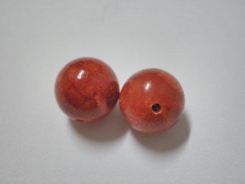 korál červený leštěný 10mm