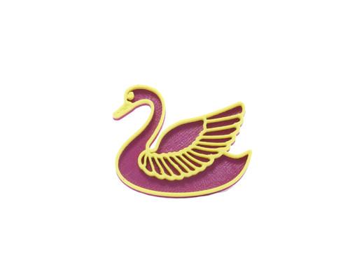 Labuť purple/sulfur yellow