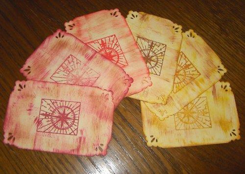 Vintage kartičky-6ks