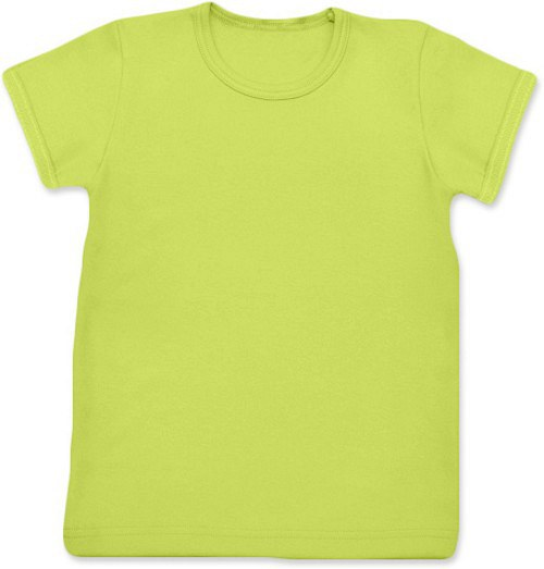 Dětské Uni tričko KR světle zelené