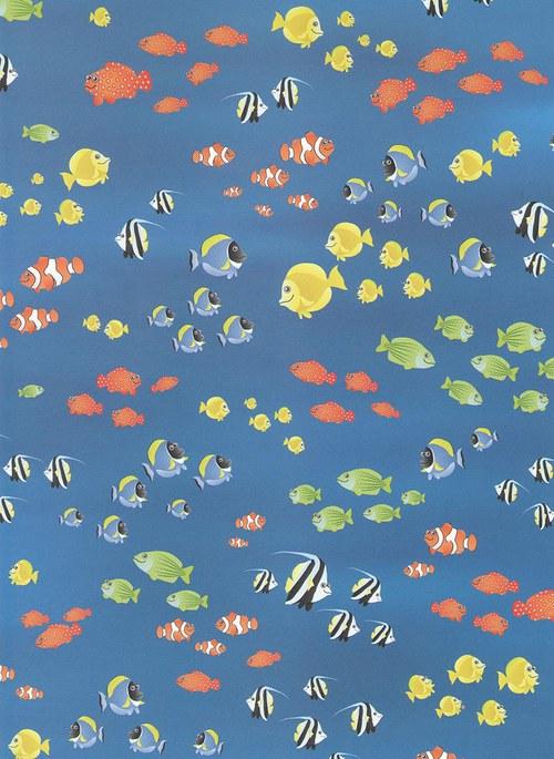 Fotokarton A4 rybičky