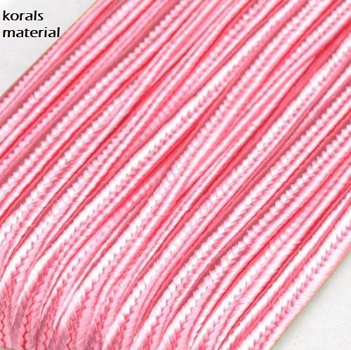 2730/19 sutaška 3 mm, ROSE SHADOW, 3 metry