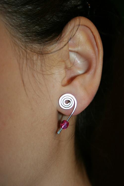Růžové bodovky - chirurgická ocel