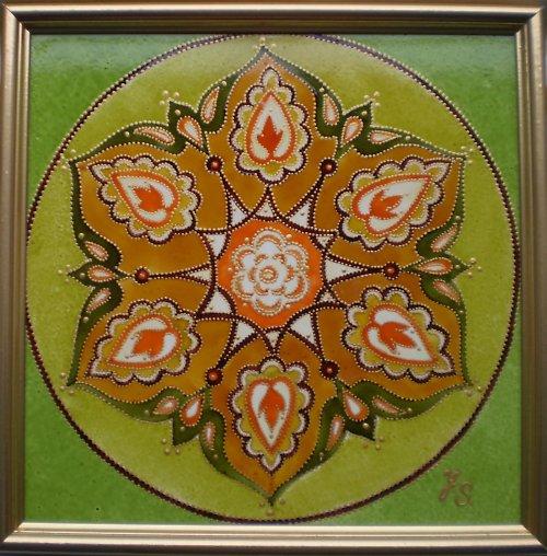Orientální mandala - Vnitřní krása