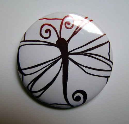 LET-O - placka - button - 44 mm