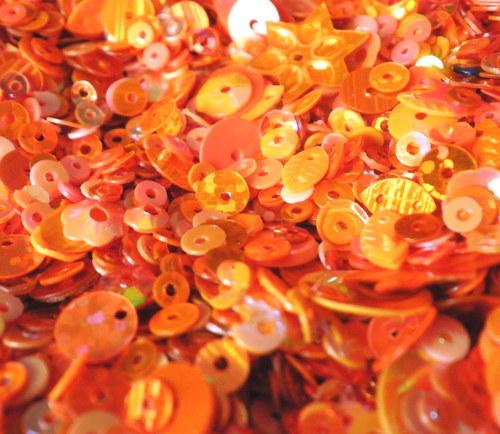 Flitry oranžové