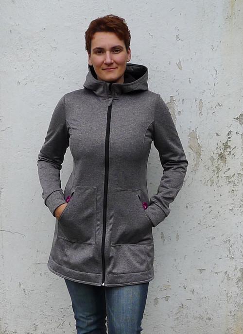 Základní dámský softshellový kabát
