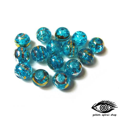 Modré praskačky - 9 ks
