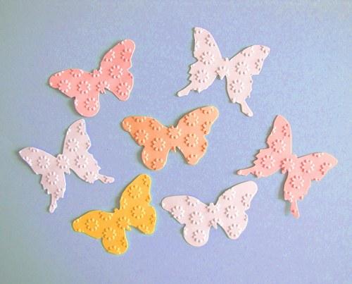 Motýlci - 7 ks