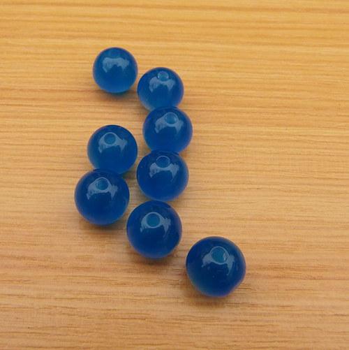 Korálky - resin - 10 mm - 10 kusů