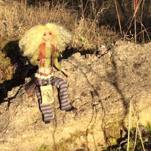 autorská panenka skřítka Jůlie