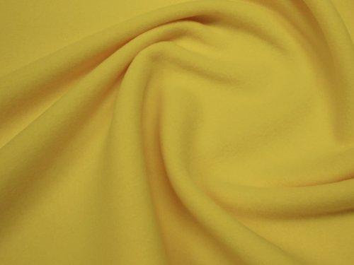 19111-B03 Fleece antipiling ŽLUTÝ metráž á 1m