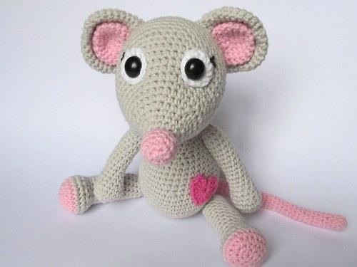 Zamilovaná myška - návod