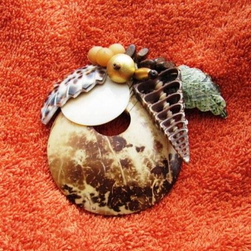 Kokosová brož