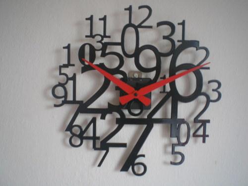 Číslové hodiny 300 mm