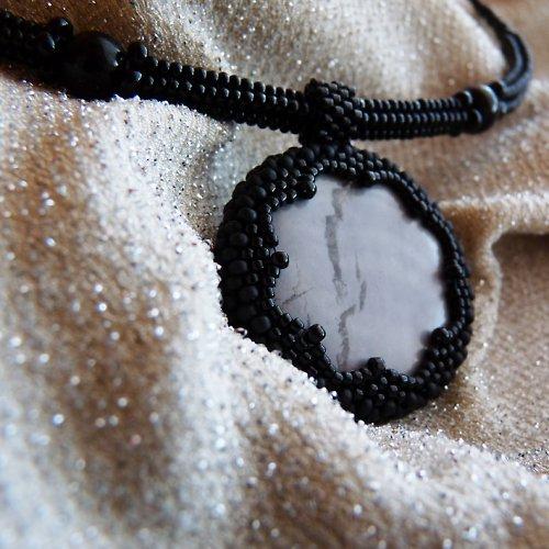 oboustranný jaspis, 2 šperky v jednom