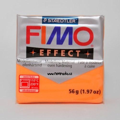 FIMO Effect / Transparentní oranžová (404)