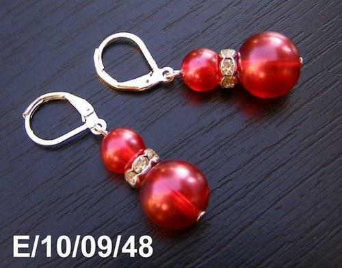 Červené perličky :)