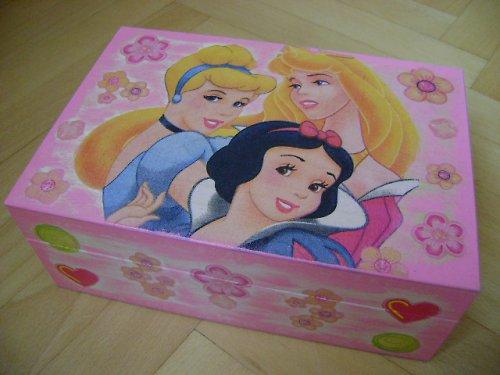 šperkovnice princezny