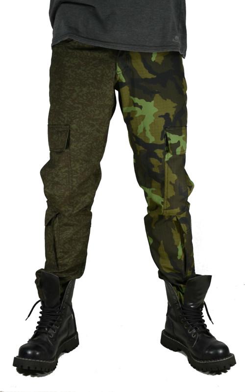 Punk kalhoty kapsáče (8 kapes)- maskáč vz.92/vz.95