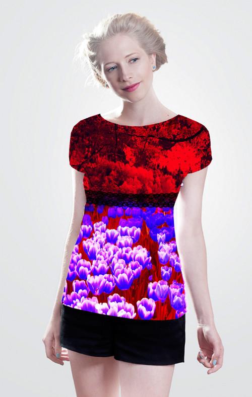 Dámské tričko.Tulip.Vel.dleTabulky velíkosti