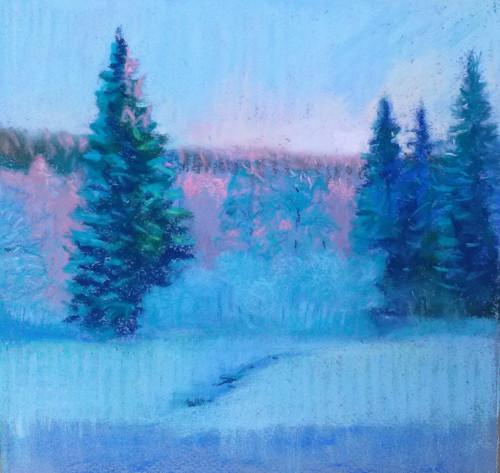 Zimní soumrak
