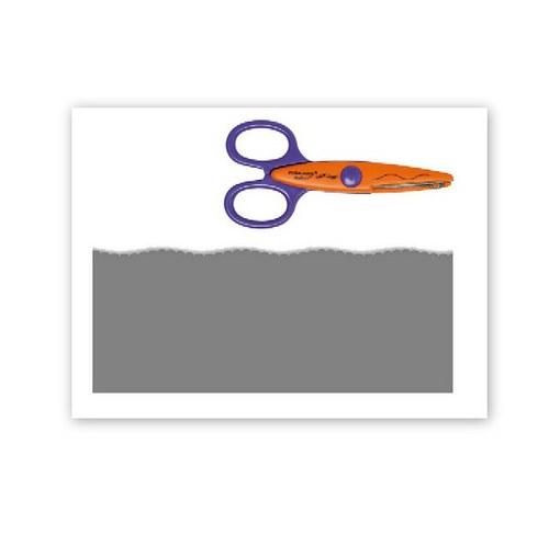 Ozdobné nůžky Fiskars / Žížala