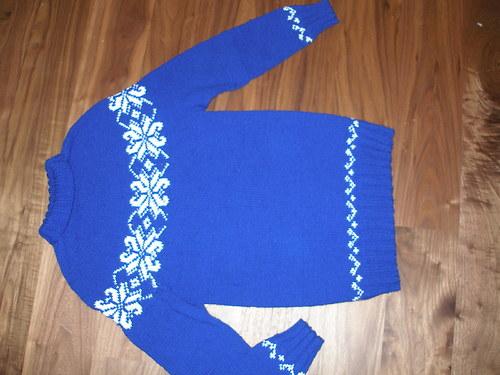 dámský (dívčí svetr) vel. 36-38