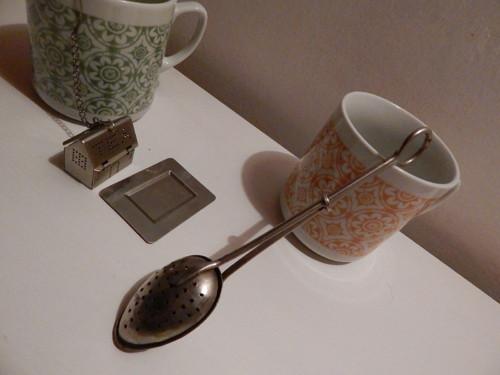 Sítko na čaj - lžička