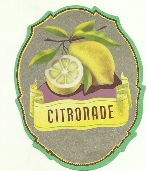 Etiketa Citronade citronáda
