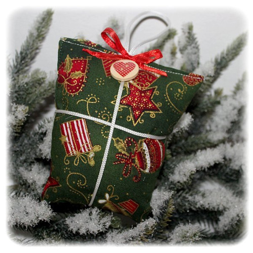 Vánoční ozdobička balíček