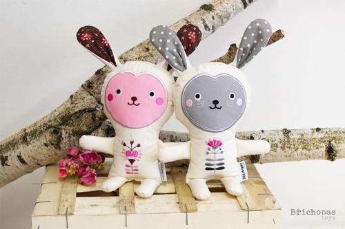 Bílý králík / autorská hračka