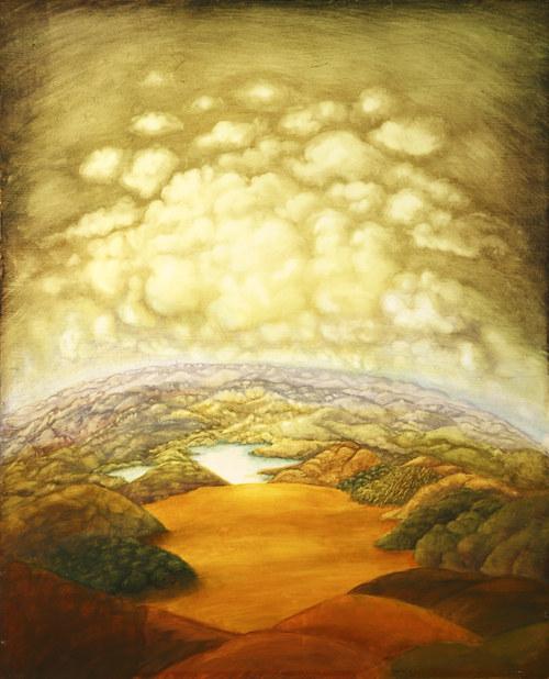 Meditační krajina