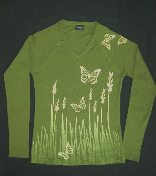 Tričko motýlkové