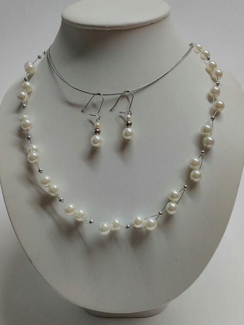 bílé perličky