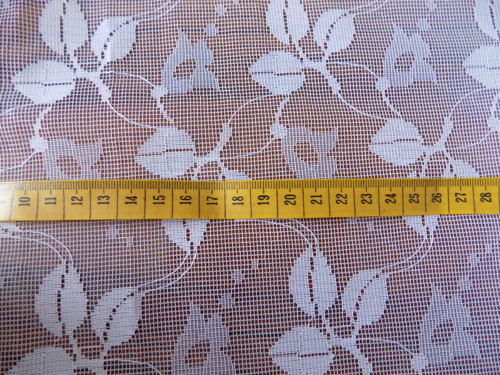 Retro záclona 2,4x2,6m