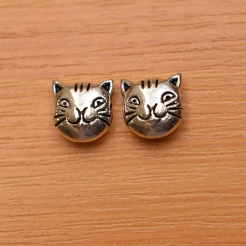 Kočka - starostříbrná  - 11mm