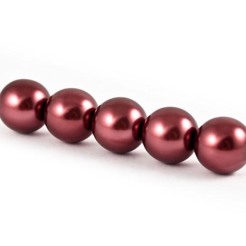Voskové perle - vínové