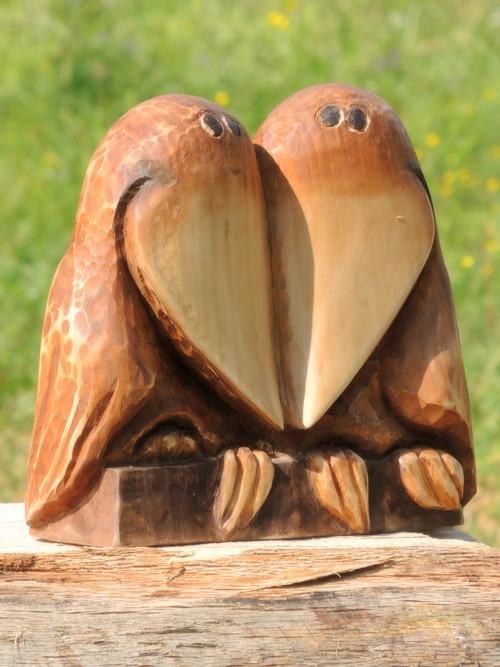 Pták přítula ... ptačí láska třeba k výročí