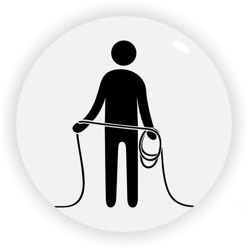 Magnetka motač kabelů