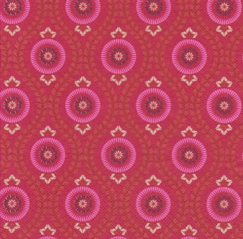 Ubrousek - kruhové vzory
