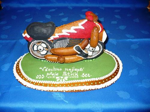 perníková motorka