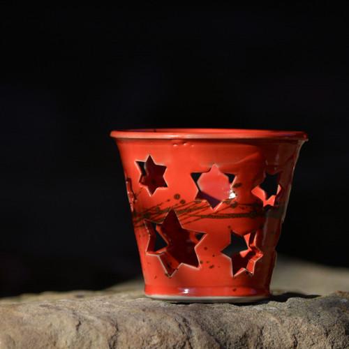 Lampička Véčko hvězdička - Ohnivý rej
